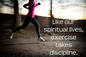 Exercise your faith
