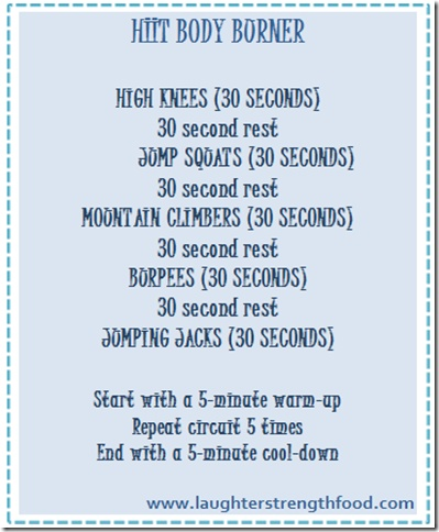 To get in the best bikini body shape combine 2-3 days of HIITS a week ...